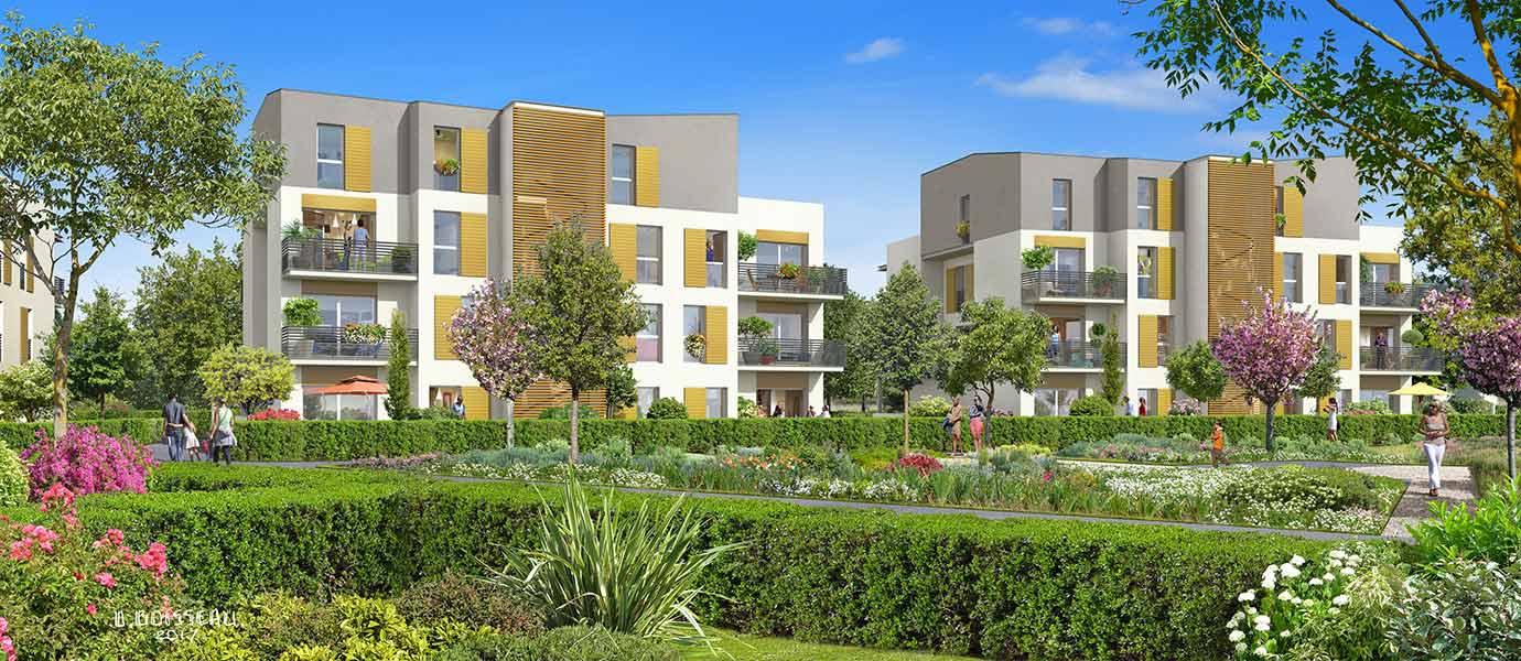 Construction de logements collectifs et de maisons individuelles à Bussy Saint George - Seine et Marne (77)