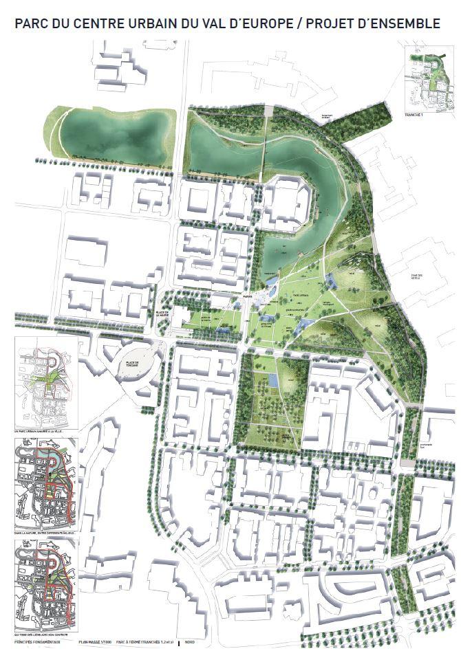 Le groupement ATELIER JOURS - CUBE² - ON désigné lauréat du concours et maître d'oeuvre du futur parc urbain de Serris (77)