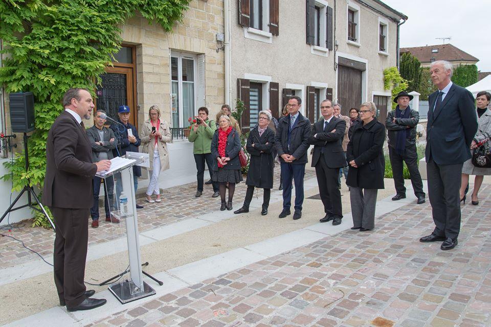 Inauguration de la Place de la République - Eragny sur Oise - 95 - Val d'Oise