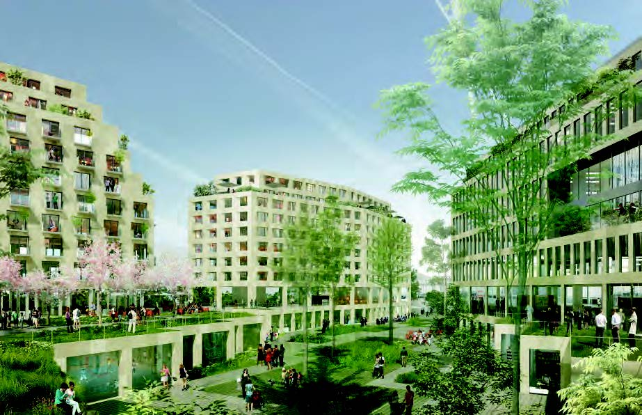 Ilot Fertile - Eole Evangile - Linkcity - Paris 18 (75)