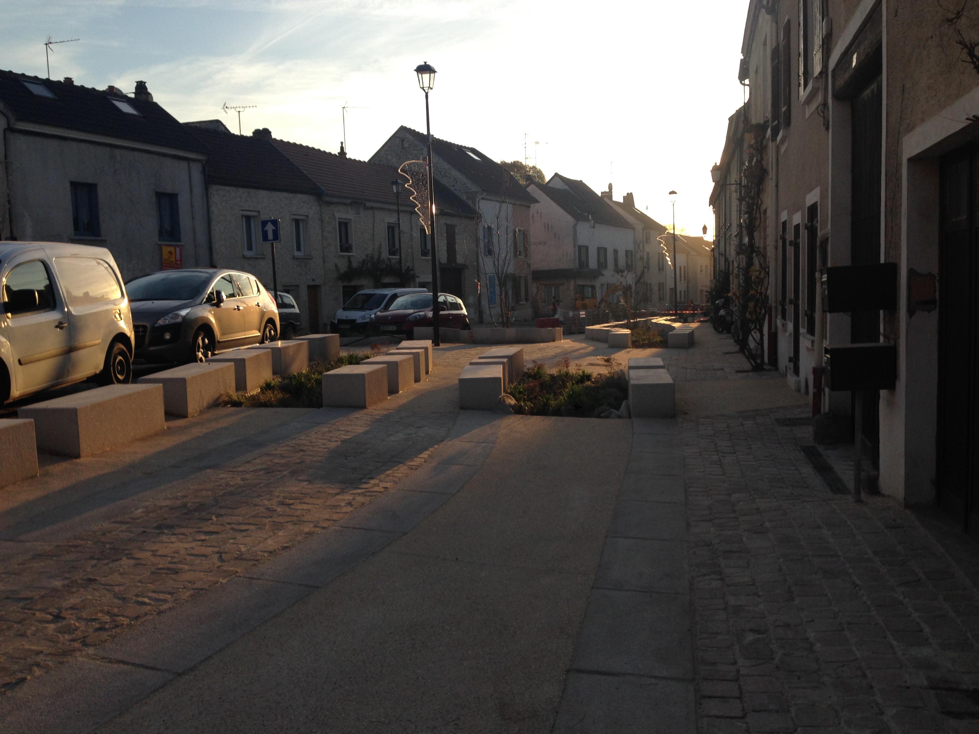 Mission de Maîtrise d'Oeuvre pour la requalification de la Place de la République et de ses abords - Eragny sur Oise - 95 - Val d'Oise
