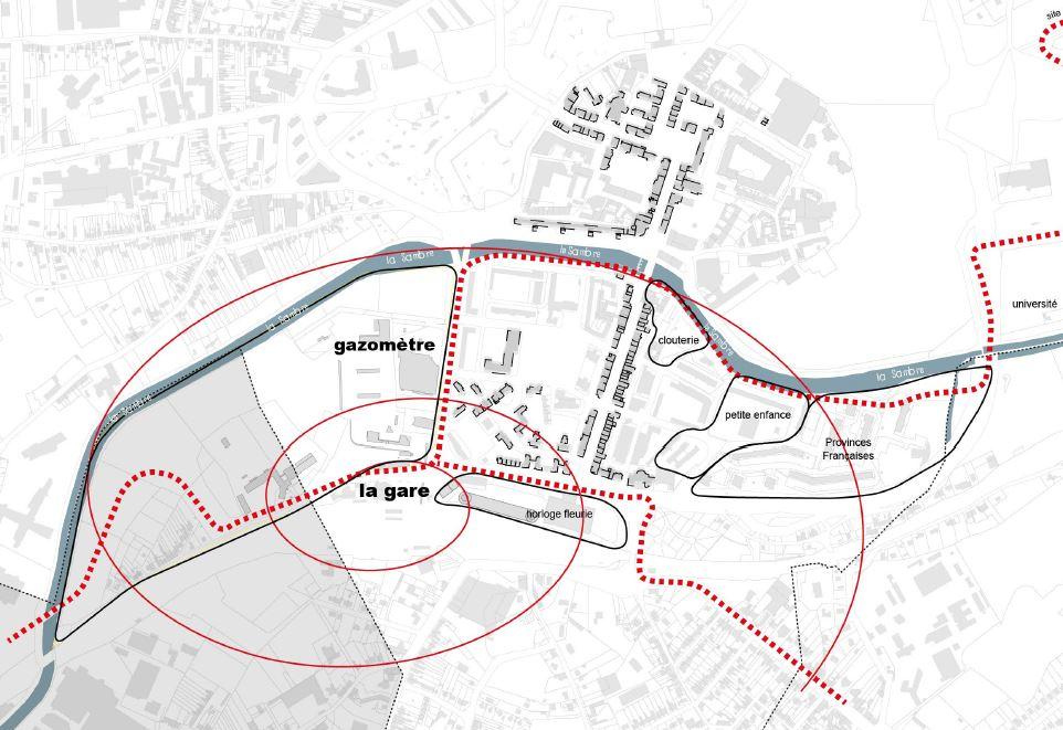 Etude pour l'aménagement et la programmation du site du gazomètre à Maubeuge - 59 - Nord
