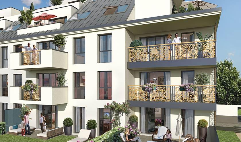 Construction de logements collectifs à Savigny Sur Orge (91)